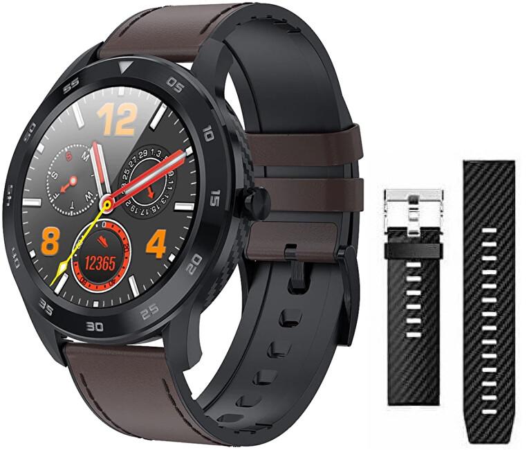 Wotchi Darčeková súprava Smartwatch WG98BN + náhradný remienok