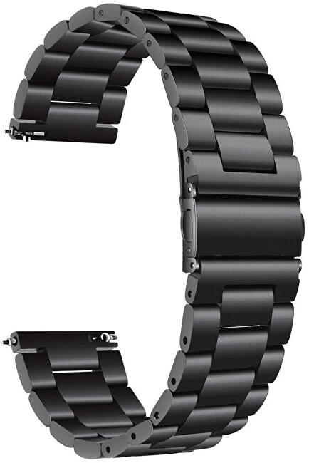 4wrist Ocelový tah - Černý 18 mm