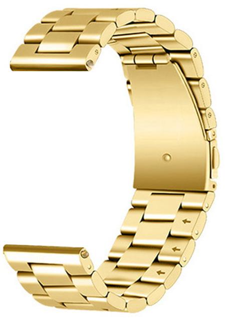 4wrist Ocelový tah - Zlatý 20 mm