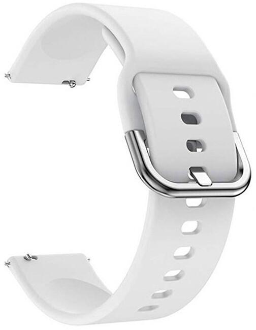 4wrist Silikonový řemínek - Bílý 22 mm