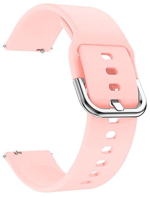 4wrist Silikonový řemínek - Růžový 20 mm