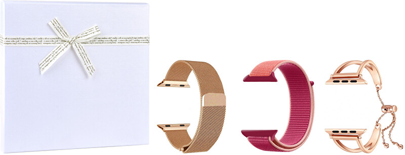 4wrist Gift box pro ni - Rosegold vel. 38/40 mm