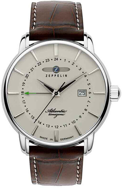 Zeppelin Atlantic Quartz GMT 8442-5