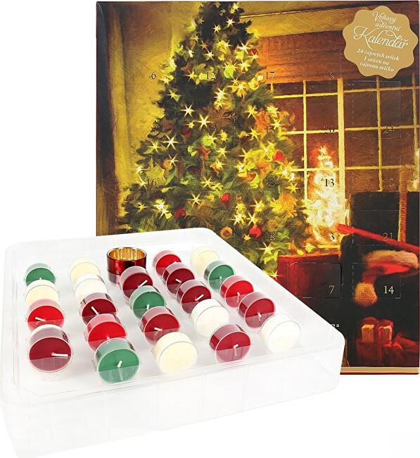 Albi Adventný kalendár Vianoce -ZĽAVA - potrhaný obal