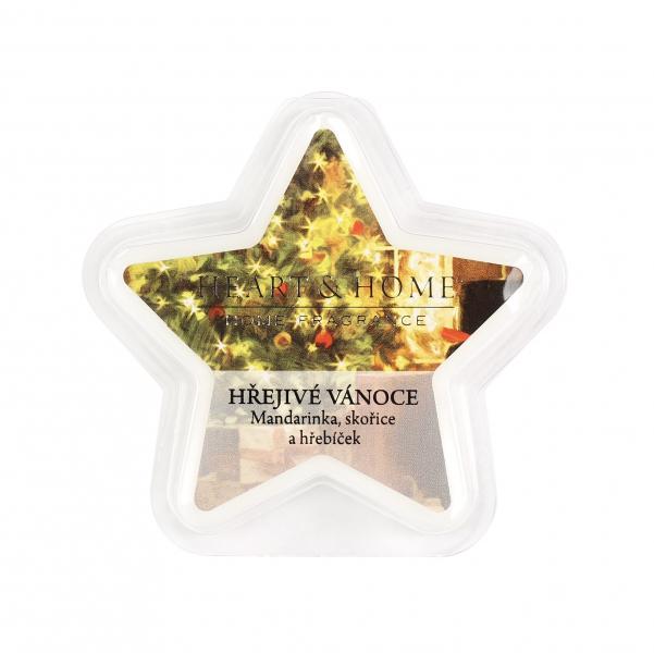 Albi Vonný vosk hviezda Hrejivé Vianoce 26 g