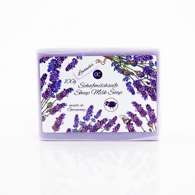 Accentra Tuhé mydlo s ovčím mliekom Lavender (Sheep Milk Soap) 100 g