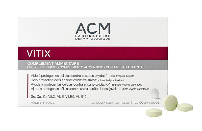ACM Doplnok stravy pre ochranu pred oxidatívnym stresom Vitix 30 tabliet