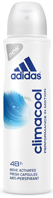 Adidas Antiperspirant ve spreji pro ženy Climacool Performance in Motion 48h 150 ml