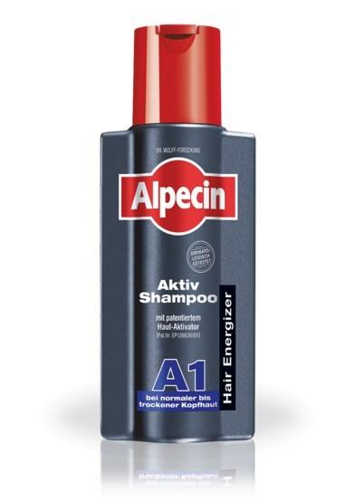 Alpecin Aktivačný šampón pre normálnu až suchú pokožku hlavy A1 (Aktiv Shampoo) 200 ml