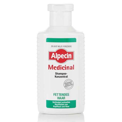 Alpecin Šampón na mastné vlasy (Medicinal Shampoo Concentrate Oily Hair ) 200 ml
