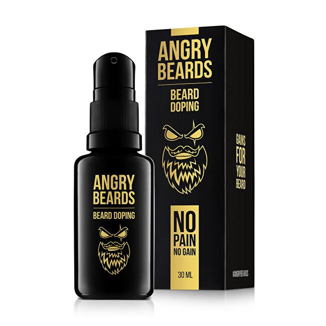 Angry Beards Přípravek na růst vousů (Beard Doping) 30 ml (měsíční kůra)