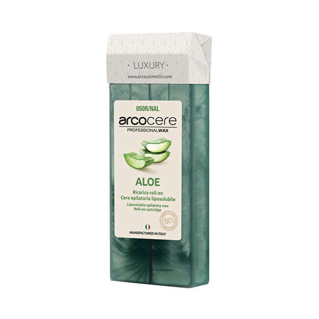Arcocere Epilační vosk Professional Wax Aloe (Roll-On Cartidge) 100 ml