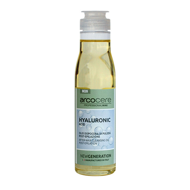 Arcocere Zklidňující čisticí olej po epilaci Hyaluronic Acid (After-Wax Cleansing Oil) 150 ml