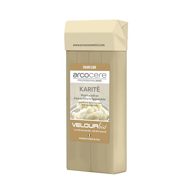 Arcocere Epilační vosk Professional Wax Karité Bio (Roll-On Cartidge) 100 ml