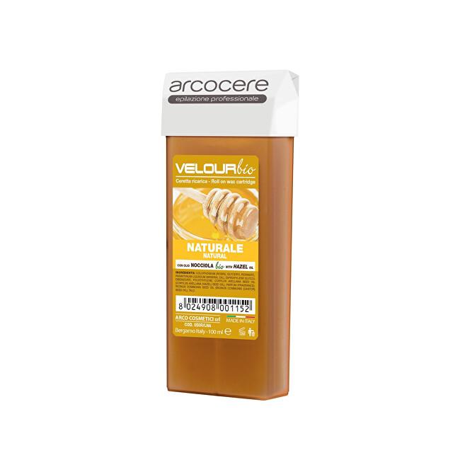 Arcocere Epilační vosk Professional Wax Natural Honey Bio (Roll-On Cartidge) 100 ml