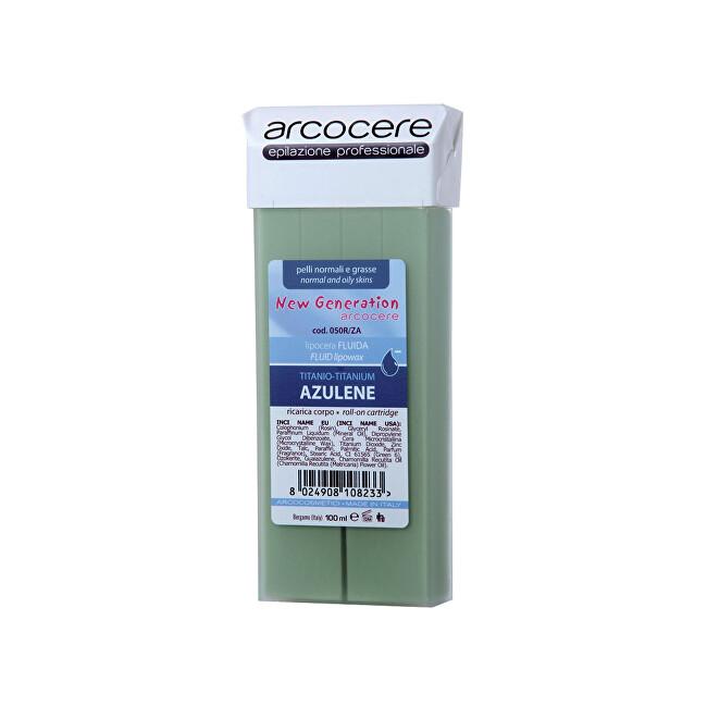 Arcocere Epilační vosk Professional Wax Azulene Zinc Titanium (Roll-On Cartidge) 100 ml