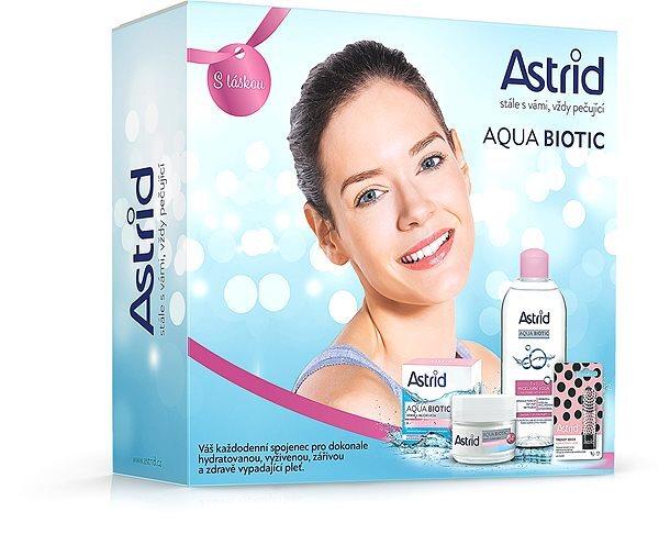 Astrid Darčeková sada pre suchú a citlivú pleť Aqua Biotic Tripack