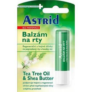 Astrid Balzám na rty s Tea Tree Oil & Shea Butter