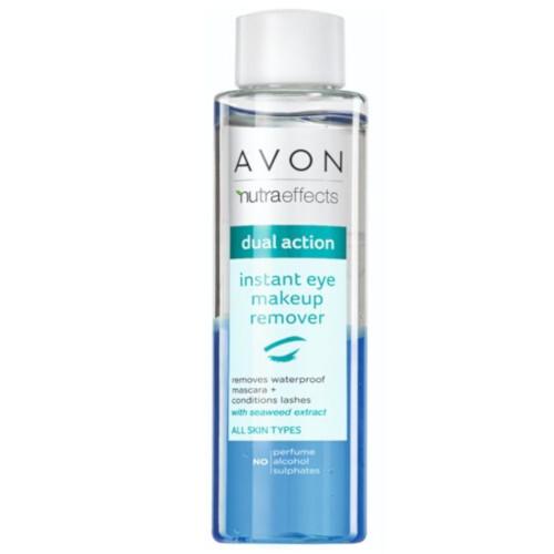 Avon Dvoufázový odličovač očního make-upu Nutraeffects Dual Action (Instant Eye Makeup Remover) 125 ml