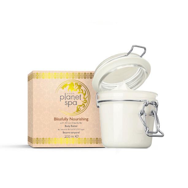 Avon Vyživujúci telový krém s bambuckým maslom (Blissfully Nourishing Body Butter) 200 ml