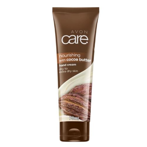 Avon Vyživující krém na ruce s kakaovým máslem Care (Hand Cream) 75 ml