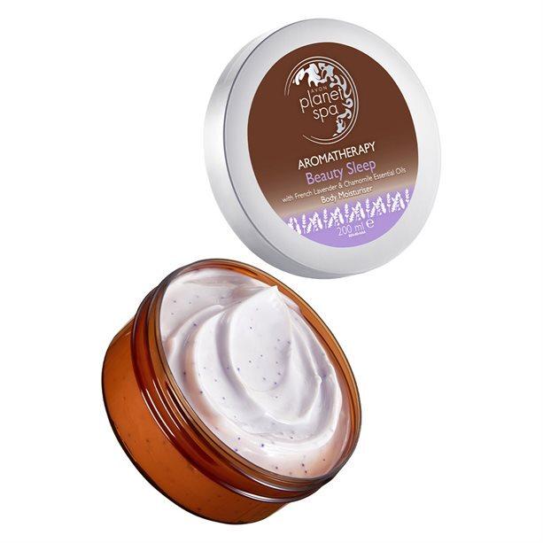 Avon Zklidňující tělový krém s levandulí a heřmánkem Planet Spa Aromatherapy (Body Moisturiser) 200 ml