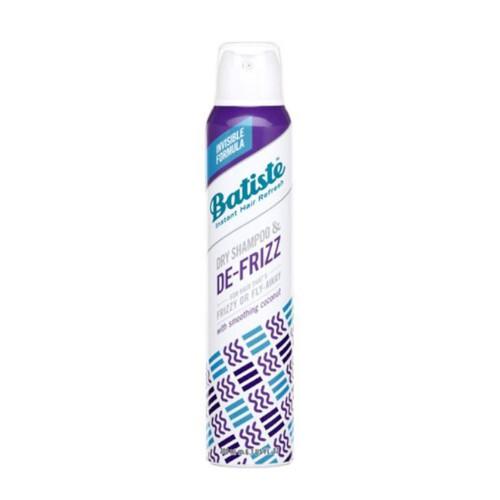 Batiste Suchý šampon na kudrnaté a nepoddajné vlasy De-Frizz (Dry Shampoo) 200 ml