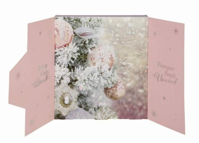 Body Collection Adventný kalendár It`s The Season To Sparkle -ZĽAVA - poškodený obal