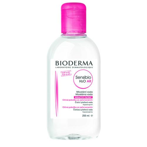 Bioderma Čisticí a odličovací micelární voda na citlivou pleť Sensibio AR H2O 250 ml
