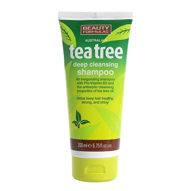 Beauty Formulas Šampon na vlasy Tea Tree (Deep Cleansing Shampoo) 200 ml