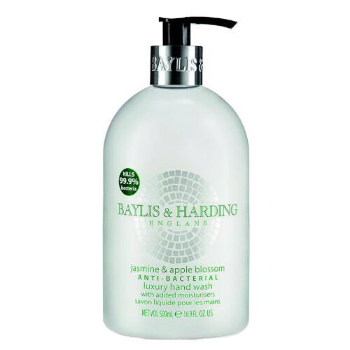 Baylis & Harding Antibakteriálne tekuté mydlo na ruky Jazmín a jablkový kvet (Anti-Bacterial Luxury Hand Wash) 500 ml