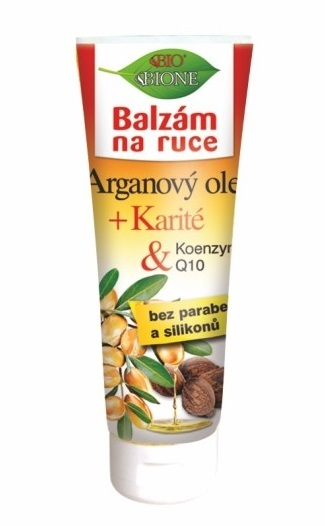 Bione Cosmetics Balzam na ruky Arganový olej + Karité 205 ml