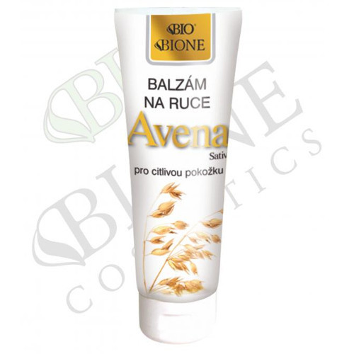 Bione Cosmetics Balzam na ruky pre citlivú pokožku Avena Sativa (Hand Balm) 200 ml