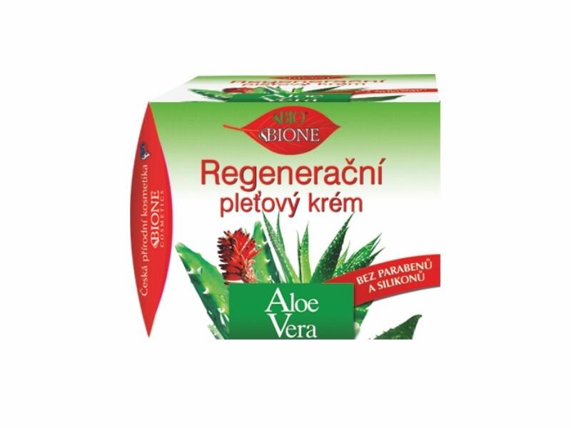 Bione Cosmetics Regeneračný pleťový krém Aloe Vera 51 ml