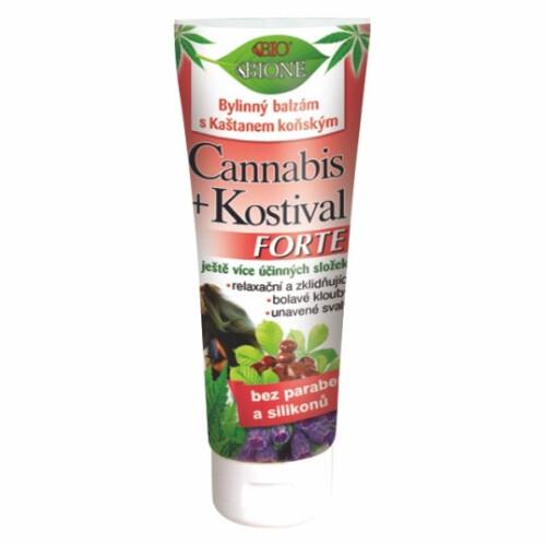 Bione Cosmetics Bylinný balzam s gaštanmi konským Forte 205 ml