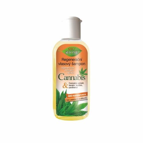 Bione Cosmetics Regeneračný šampón na vlasy Cannabis 80 ml