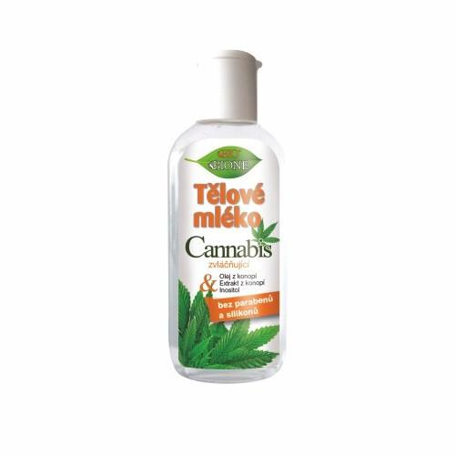 Bione Cosmetics Zvláčňující tělové mléko Cannabis 80 ml
