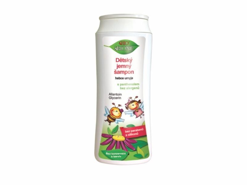 Bione Cosmetics Detský jemný šampón 200 ml