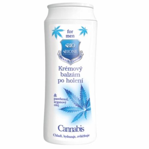 Bione Cosmetics Krémový balzam po holení pre mužov Cannabis 200 ml