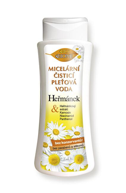 Bione Cosmetics Micelární čisticí pleťová voda Heřmánek 255 ml