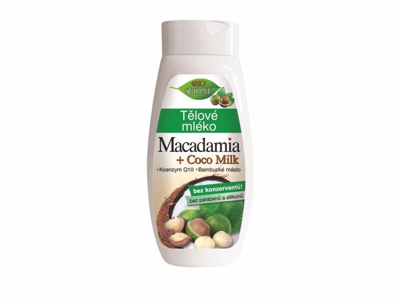 Bione Cosmetics Tělové mlieko Macadamia + Coco Milk 400 ml