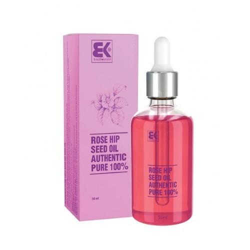 Brazil Keratin 100% čistý za studena lisovaný prírodný šípkový olej (Rose Hip Seed Oil Authentic Pure ) 50 ml