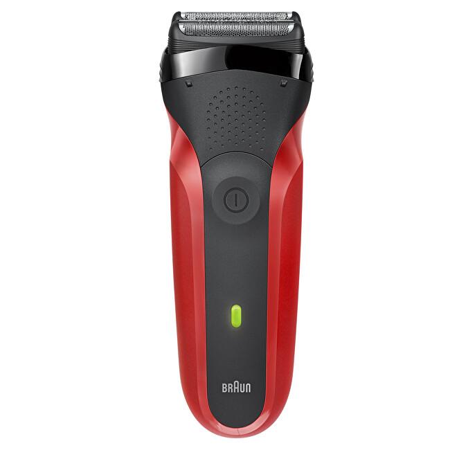 Braun Dobíjacie elektrický planžetový holiaci strojček Series 3 300 Red