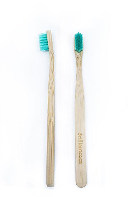 Brilliantcoco Bambusový zubná kefka 1 ks