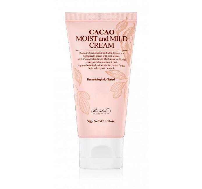 Benton Lehký hydratační krém Cacao (Moist And Mild Cream) 50 g