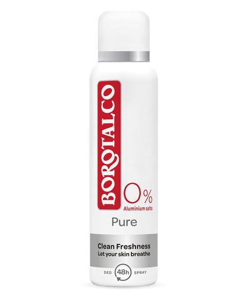 Borotalco Deodorant ve spreji 48H Pure (Spray Deodorant) 150 ml