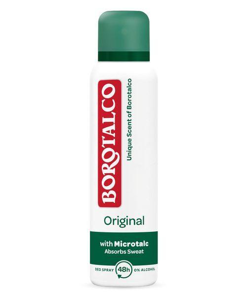 Borotalco Deodorant ve spreji Original 150 ml