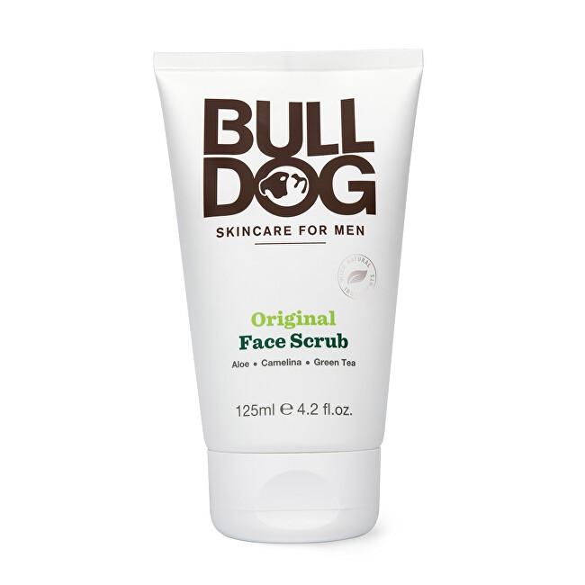 Bulldog Pleťový peeling pre mužov na normálnu pleť Original Face Scrub 125 ml