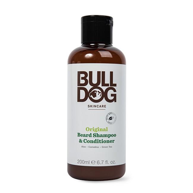 Bulldog Šampón a kondicionér 2v1 na fúzy pre normálnu pleť Original Beard Shampoo & Conditioner 200 ml