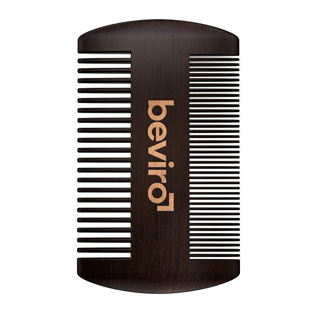 beviro Hrebeň na fúzy z hruškového dreva (Beard Comb)